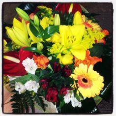 #bouquet di fiori luminosi