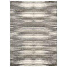 Nourison Studio Ivory/Grey Area Rug