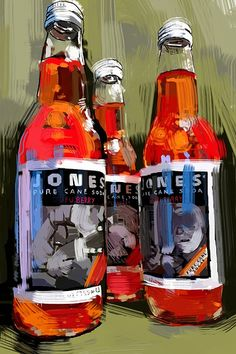 Susan Murtaugh. Think of doing a variation on a still life involving a fun subject matter- soda bottles?