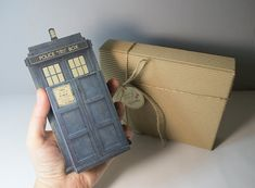 Tardis grands Doctor Who emotibox boîte de papier par FairyCherry