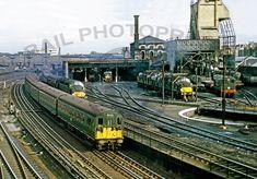 Locomotive Sheds, Depots and Stabling Points Abandoned Train, Abandoned Amusement Parks, Abandoned Castles, Abandoned Mansions, Abandoned Houses, Abandoned Places, Electric Locomotive, Diesel Locomotive, Uk Rail