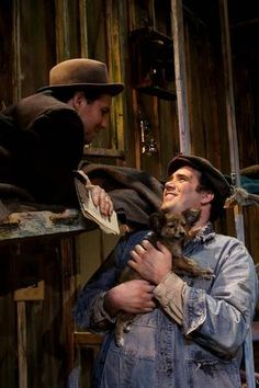 The character Carlson from Of Mice and Men is a large man who ...