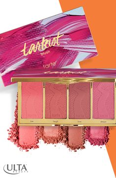As a busy girl, you don't have time for touch ups, you just want your face to look awake all day. With the Tartiest Blush Palette at Ulta Beauty, you will. The colors have happy names & are made with Amazonian clay to provide long wear & pretty cheeks from morning to night.