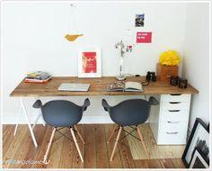 Hervorragend DIY Schreibtisch, Günstig U0026 Schnell Den Schreibtisch Selber Bauen