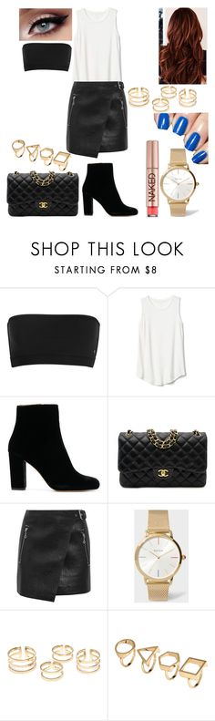 """""""Untitled #1405"""" by nerdynerdy on Polyvore featuring Gap, Chanel, Étoile Isabel Marant, Paul Smith and Urban Decay"""