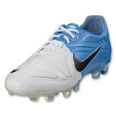 Nike CTR360 Maestri II (White/Black/Blue Glow)