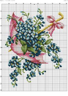 Cross-stitch patterns - Borduur patronen (1)