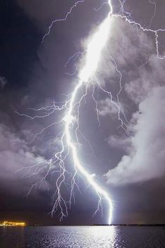 Lightning Bolt, Tampa, Florida (the lightning capital of the world) photo via carlar All Nature, Science And Nature, Amazing Nature, Tornados, Thunderstorms, Thunder And Lightning, Lightning Bolt, Lightning Pics, Mother Nature