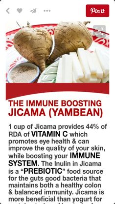 The immune boosting yambean