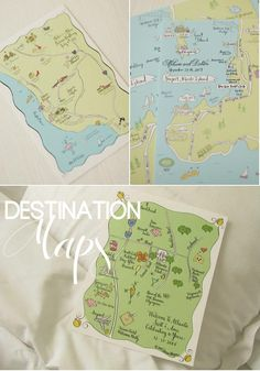 What a Nifty Idea. I feel Peter Pan would appreciate this map. Maybe he would come to my Wedding....hmm.