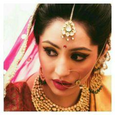 Gujarati bridal makeup Bridal Makeup/Asian Bridal ...