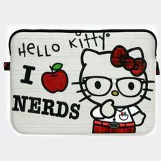 Hello Kitty Neon Laptop Case