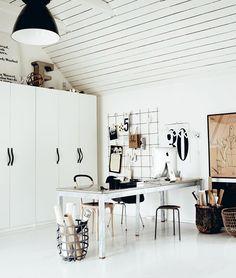 working space styling Hans Blomquist