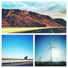 Fotografía móvil desde el coche . . . #honor8 #photodaily #landscape #Color #travel #photooftheday #fb
