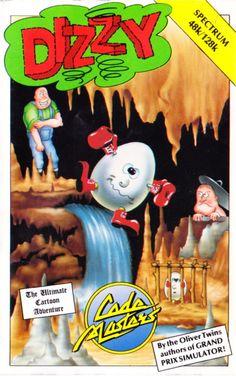 Dizzy: The Ultimate Cartoon Adventure ZX Spectrum Front Cover