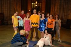 Peanuts Halloween Costume  Woodstock, Schroeder, Linus, Sally, Charlie Brown, Peppermint Patty, Lucy, Snoopy, Marcy, The Great Pumpkin, Pig Pen  #halloween #cosplay