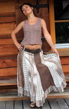 upcycle skirt