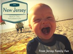 A list of New Jersey Beaches by county and information about their Beach Tag or Badges policies and prices for 2016