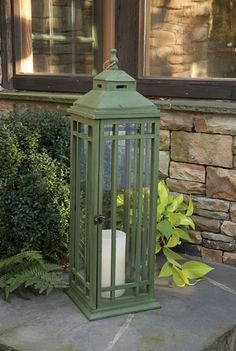 This guimard lantern was inspired by Hector Guimard, a famous designer of unique Paris Metro entrances.