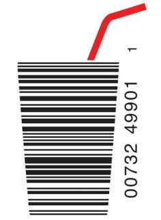 Creative drink barcode
