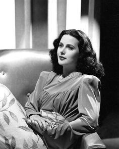Hedy Lamarr ~ 1940s.