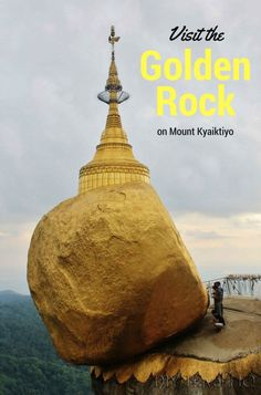 The Golden Rock on Mount Kyaiktiyo is said to be precariously perched on a lock of the Buddha's hair. It's an incredible sight but to see it, you must brave a ride on the back of a converted dump truck with 39 other passengers! The Golden Rock is one of the most divided attractions in Myanmar – people either love it or hate it. We didn't like it at first…find out how it won us over!
