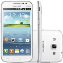 "Smartphone Samsung Galaxy Win Duos Dual Chip 3G - Android 4.1 Câm. 5MP Tela 4.7"" Proc. Quad Core"