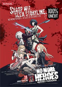 Konami Anzeige – No More Heroes