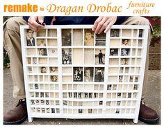 Hometalk :: Old Printers Tray, Remake by Dragan Drobac Furniture Crafts