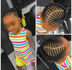 Little Girl Hairstyles Braids Gallery the simple side braid hairdo with a twist is one of the Little Girl Hairstyles Braids. Here is Little Girl Hairstyles Braids Gallery for you. Little Girl Hairstyles Braids african american black toddler gir. Cornrow Styles For Girls, Little Girl Braid Styles, Kid Braid Styles, Little Girl Braids, Black Girl Braids, Braids For Black Hair, Kid Styles, Childrens Hairstyles, Lil Girl Hairstyles