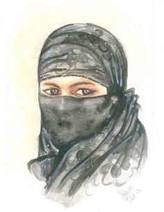 Arabian Lady by silviadotti on Etsy