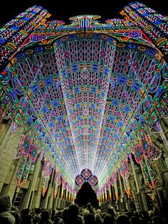 festival of lights in Belgium