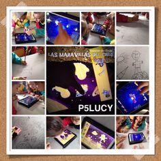 Dibujamos y actividad con iPads...