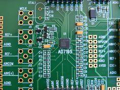 KIT Conversor AD7195 Balança de alta precisão com Alimentação AC