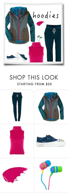 """""""Bold Comfort"""" by patricia-dimmick on Polyvore featuring Negarin, Title Nine, Topshop, Miu Miu and Hoodies"""