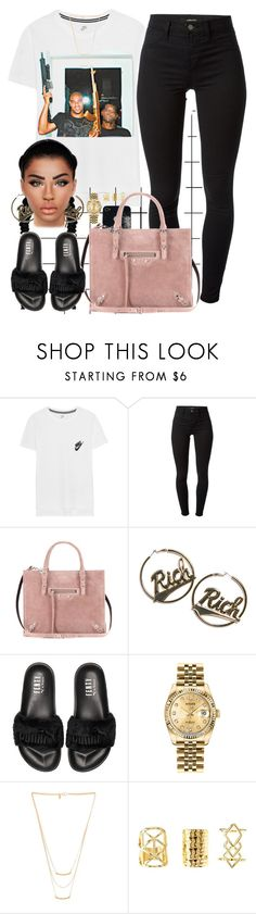 """I shouldn't have let you go"" by hosana-tsarnaev ❤ liked on Polyvore featuring Forum, NIKE, J Brand, Balenciaga, Joyrich, Puma, Rolex, Gorjana, Charlotte Russe and rolex"