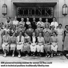 IBM pioneered training courses for women