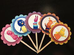 Backyardigan Cupcake Toppers