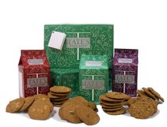 Tate's Bake Shop Assorted Cookie Gift Pack, Tate's Bake Shop is the fairytale culmination of a dream that got started when Kathleen King began baking cookies to sell at her family's farm stand in Southampton, NY. Today, those amazin. Famous Chocolate Chip Cookie Recipe, Gluten Free Chocolate Chip Cookies, Gourmet Gifts, Food Gifts, Tates Cookies, Good Bakery, Cookie Gifts, Chocolate Gifts, Cookies Et Biscuits