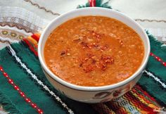 If you carefully watch your weight or are struggling with excess weight, I offer you a very tasty, nutritious and little calories lentil soup for weig. Lentil Soup, Russian Recipes, Tomato Paste, Drying Herbs, Stuffed Hot Peppers, The Dish, Food Inspiration, Spices, Tasty