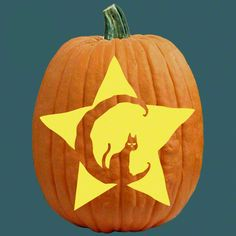 "One of 700+ FREE stencils for pumpkin carving and more! www.pumpkinlady.com ""Just Peachy"""