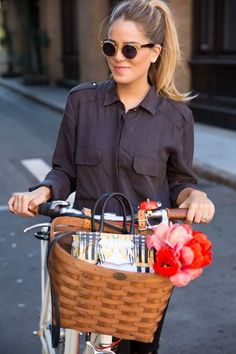 Celebrities Who Bike: Lauren Conrad