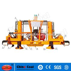 chinacoal03 Best Price YQJ-200 Hydraulic Pressure Track Lining Machine/Hydraulic Lifting and Lining Machine YQJ-200 hydraulic track lifting and lining machine is specially used for the maintenance and repair of railway lines and the track bed. It applies to the track lifting and lining works of rails 43kg/m to 75kg/m, which can raise and adjust the track level. It is featured with high efficiency, simple operation, light weight, safety and reliability, a wide range of use etc.