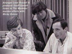 Leon Russell, Micky Dolenz and Snuff Garrett
