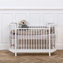 Oliver Furniture Wood Baby- und Kinderbett 70 x 140 cm, weiß