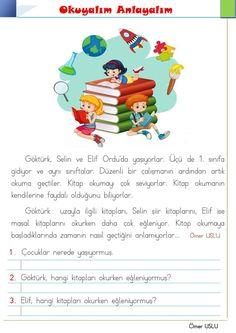 Turkish Language, Reading
