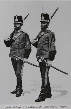 Cazadores de Treviño nº 26 1892-94 Batidores