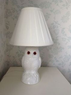 Vintage-Poole-Pottery-Owl-Lamp-Base-shade-not-included