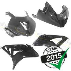 alpha Racing Carbon Fairing Kit 4 Pc. BMW S1000RR (2015-)