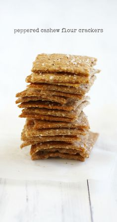 How to make your own flavorful crackers at home. A delicious and easy recipe.